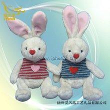 Plush & Stuffed Toys Bunny Rabbit with vest