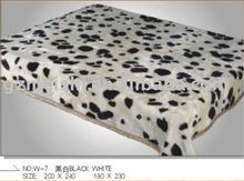 Panther print blanket