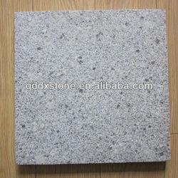 flamed brushed grey granite