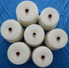 100% spun polyester yarn/sewing thread, 20s/2 raw white