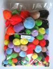 Value pack pompom craft,pompom wholesale,pompom ball for garland