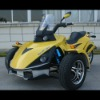 EEC 250cc 3 Wheel Trike