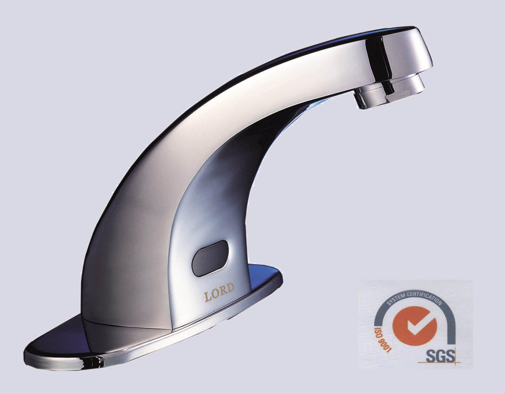 Griferia Para Baño Con Sensor:Automático del Sensor de infrarrojos cuarto de baño del grifo