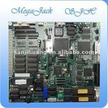 Megajack casino game board