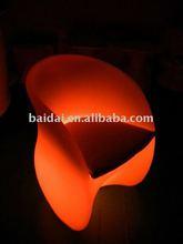 LED lit arm chair