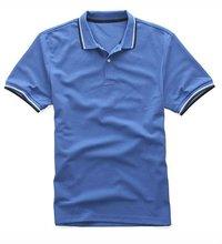 Men's plain casual sport polo t-shirt