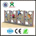 Kindergarten plastic kids rock climbing wall(QX-11073B)/kids indoor climbing wall/backyard rock climbing wall