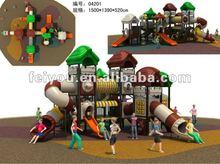 Kids Outdoor Amusement Playground design house amusement park rides children games
