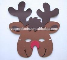eva foam christmas party mask