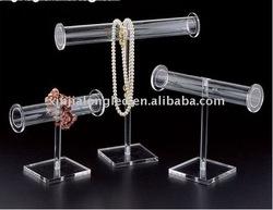 clear acrylic jewelry display hanger or acrylic watch/bracelet holder