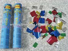 60cm wedding metallic party popper,paper confetti cannon
