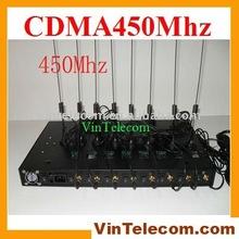 8port CDMA450Mhz terminal / CDMA Gateway / FWT/FCT - for VoIP Call termination-NEW