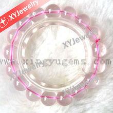 Lovly Gift for Girls / Beautiful Rose Quartz Bracelet