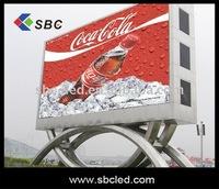 outdoor full color big led display billboard