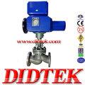 didtek actionneur électrique en acier moulé vanne