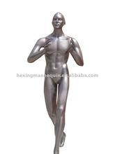 Full body fiberglass male basketball mannequin