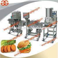 Mini Automatic Hamburger Making Machine Hamburger Patty Forming/Molding Machine