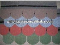 Fish-scale Asphalt Roofing Shingle
