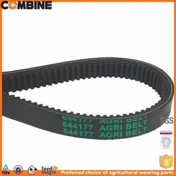flat drive belt for farm machinery