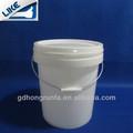 22l pp balde plástico