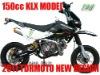 2014 New 150cc KLX Lighting Pitbike Dirt Bike Motocross Minicross Minibike Off-road Motorcycle Fiddy Big Foot Wheel Hot Sale KLX