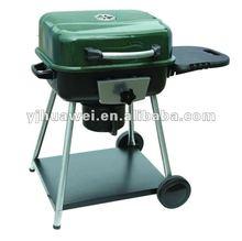 Green Charcoal BBQ Grill #B2020B