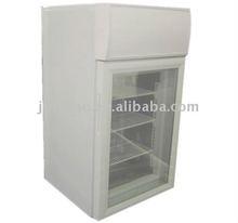 42L glass door small ice cream freezer