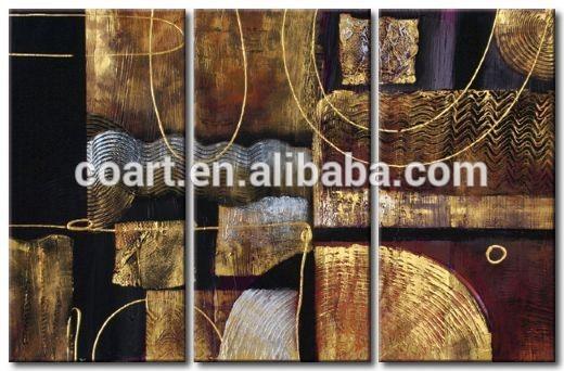 hecho a mano africanos de alta calidad de lona pintura al óleo