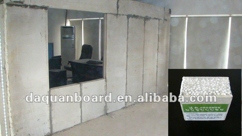 Easy Installation Low Cost Eps Wall Panel For Partition