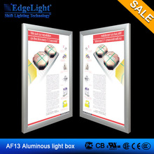 Edgelight AF13 Slim snap frame Light Box led screen
