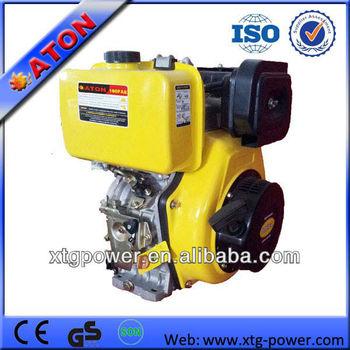 ATON 10hp Air-cooled Vertical Single cylinder 5.7/6.3kw Diesel Engine