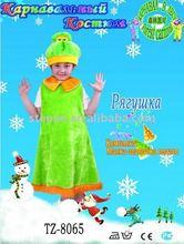 TZ-8065 frog prince and princess costume