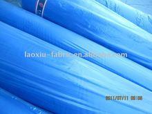 BLUE PLAID FLEECE fabric