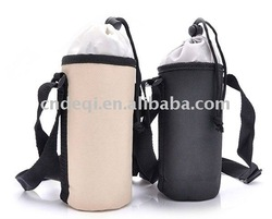cheap rope 600D bottle cooler bag