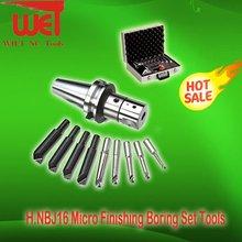 CNC Micro Finishing Adjutable Boring Head Boring Bar Sets