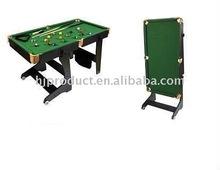 Beautiful design foldable and moveable mini biliard table