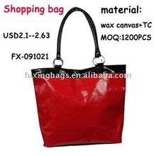 Fashion cheap women promotional shopping bags 2012