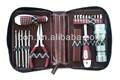 21 pcs computadora kit de herramientas con estuche de cuero