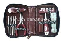 21pcs computer tool kit with leather case