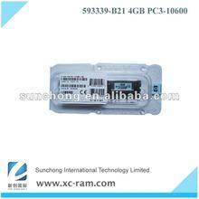 593339-B21 high quality 4gb reg ecc pc2700 ram