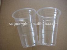 16oz cheap disposable transparent plastic drinking cup