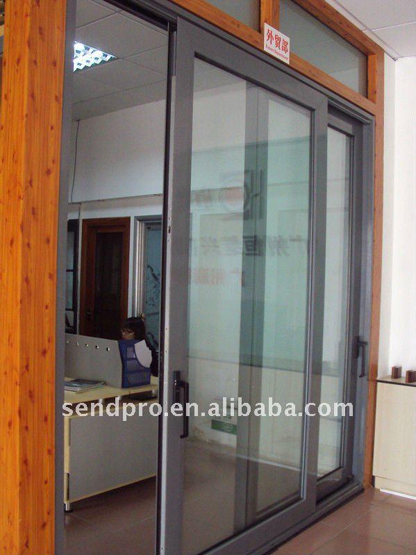 140tt aluk sistema de aluminio puerta corredera para el - Puerta corredera de aluminio ...