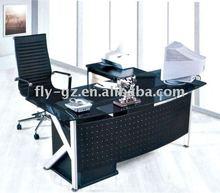 2012 glass modern executive desk, manager desk, office desk