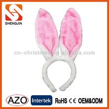 Rabbit ears Christmas Headband/Antler