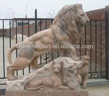 Newstar Marble Lion Sculpture
