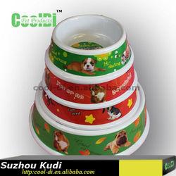 2015 new style melamine cat dog feeder pet food bowl