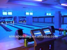 XIMA Bowling Equipment (8 lanes full glow xima bowling alley)