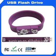 1GB Silicone Wrist Strap USB flash drive