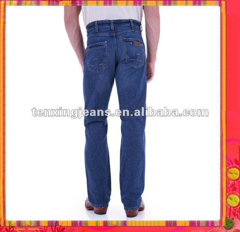2011 nuevo diseño de la manera simple de los hombres de cinco bolsillos de los pantalones vaqueros