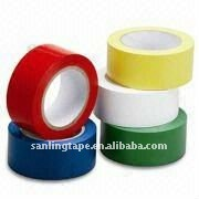 Colorful electrical PVC insulating adhesive tape